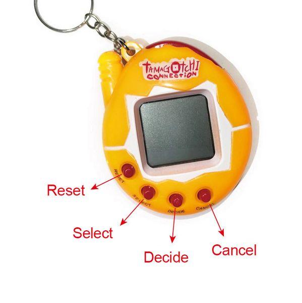 2017 New Version Tumbler Electronic Toy Tamagotchi Virtual Pet Toy For Kids