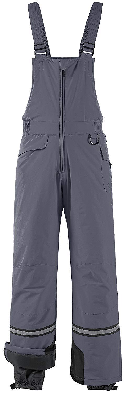 Get Quotations · Wantdo Men s Waterproof Ski Pants Insulated Warm Snow Bib  Pants Winter Overall 3f25fb2d7