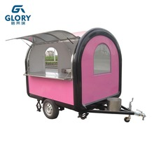 Made in China Factory supply sell fast food mobile food cart, food truck