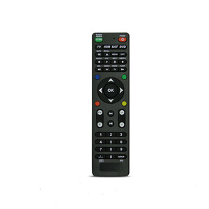 NEW ABS material Arrival IR learning function VCR/AUXTV/DVD/TV Universal remote control