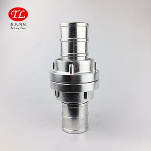 high quality aluminum water fire hose storz type coupling