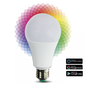 China supplier E27 E26 led smart bulb lighting smart phone control