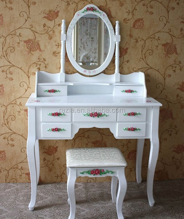2015 Europe style bath vanity dresser with mirror and stool - K009C
