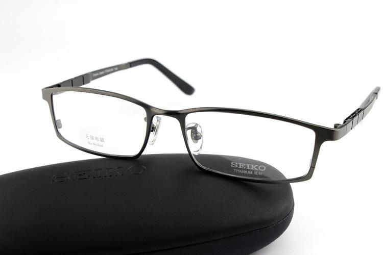 2482f11f6f2 Brand Designer Brand Ht1072 Eyeglasses Frame Glasses Full Frame Titanium  Frame Oculos De Grau Eyeglasses Men Original Case