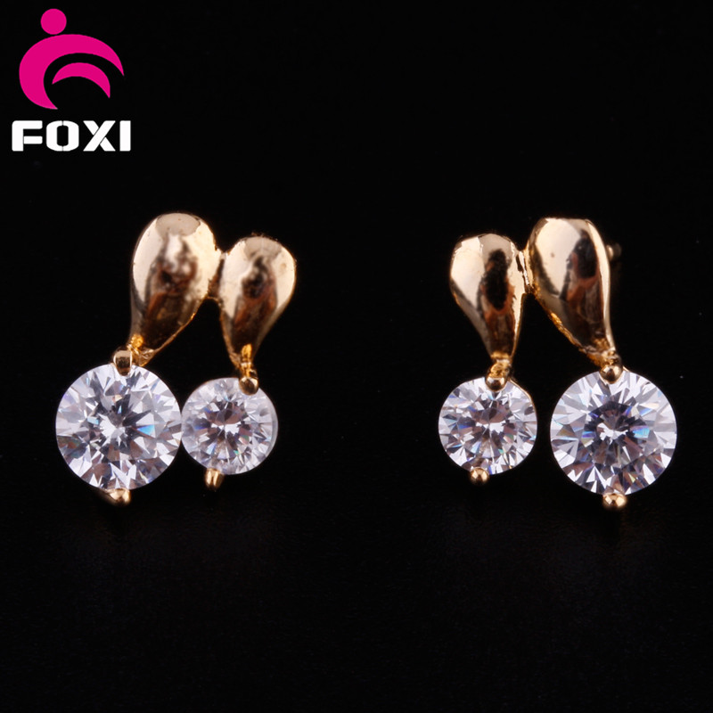 Fancy Design Earring Stud Small Gold Earrings Designs For S Product On