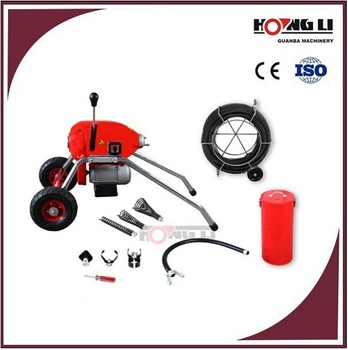 D200 / GQ200 electric drain cleaners / cleaning machine