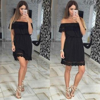 c3d85b81e3f34 2018 Summer Fashion Women Clothes Fancy Dress off-shoulder Sexy Dresses  Ladies Fashion Dress