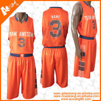 Athletic youth reversible mesh basketball uniform