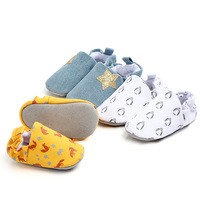 New arrival high quality genuine leather outsole soft cotton newborn baby booties