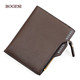 Factory Price PU Leather brand bags famous wallets Mens wallet with coin Pocket