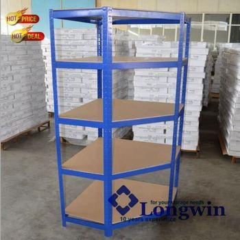 Garage Warehouse Kit Organize Corner Storage Shelving