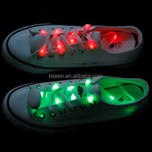 Unique fashionable led glow shoelace for kid gifts
