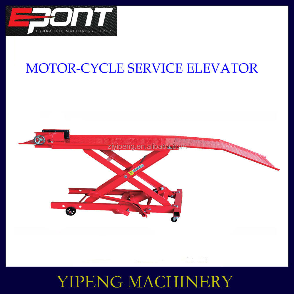 elevator in 800lb motor-cycle service factory offer