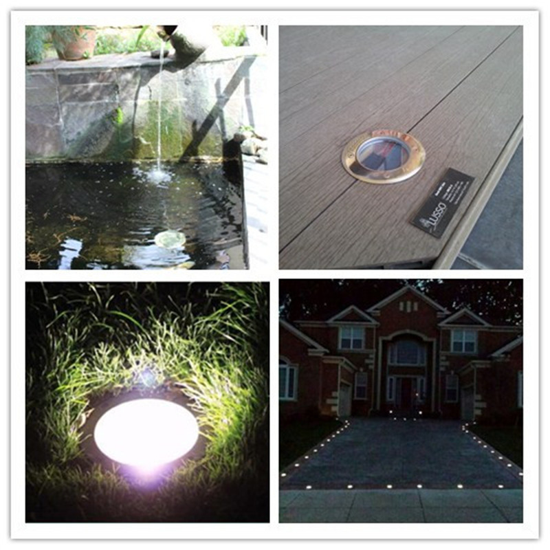 Led Round Ball Plastic Mini Solar Lights For Outdoor Use Planters ...