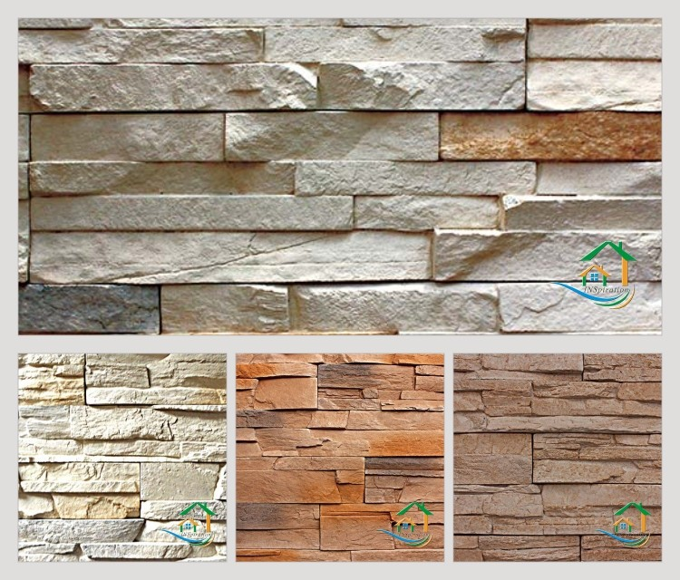 Fachadas de piedra artificial trendy piedras castillo - Piedra artificial para fachadas ...