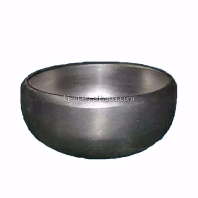 Hot Selling Factory Titanium Gr2 pipe fitting Butt-Welding Caps