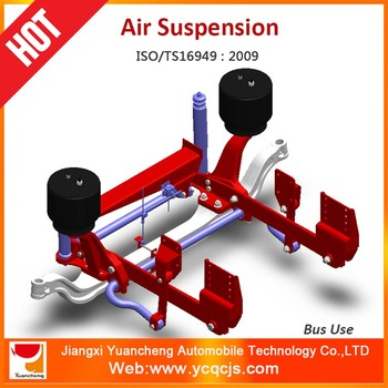 Vehicle 4x4 Lift Kit Air Bag Suspension For Buses