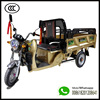 Eco Friendly Electric Cargo Trike 400 KG Loading Capacity