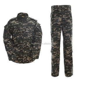 US standard uniform ACU dark camo digital urban camo men's clothing Army Uniform