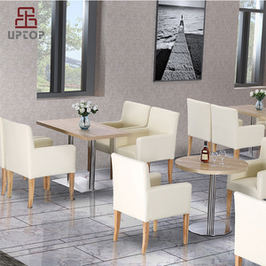 Dining room kitchen furniture 4 seater modern dining table set used restaurant table and chair