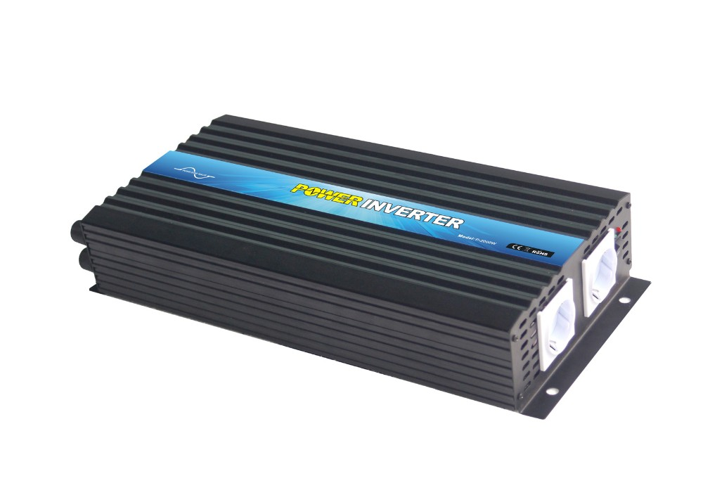High Frequency DC/AC Inverters Type and Single Output Type Pure Sine Wave Off Grid Power Inverter 2000W
