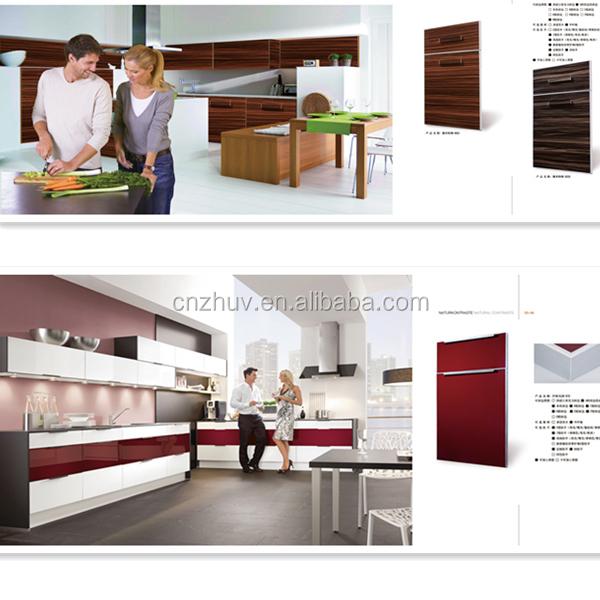 Custom Made Cheap High Polymer Kitchen Cabinet Door - Buy High ...