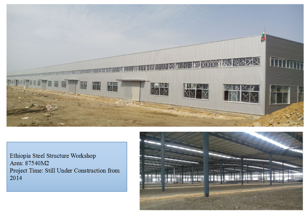Industrial shed design prefabricated building big steel structure warehouse