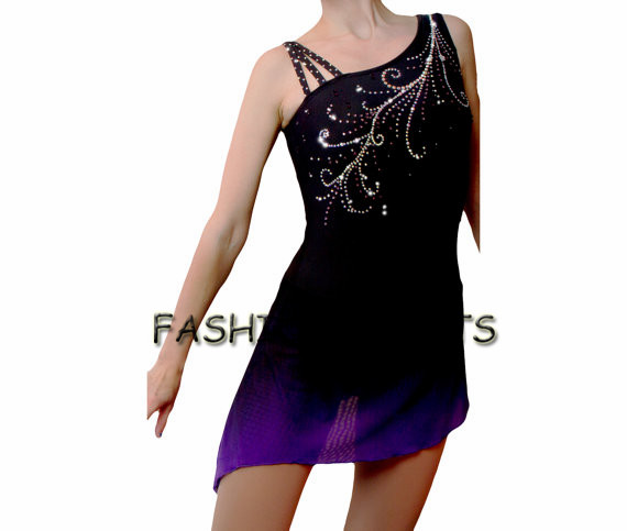 filles de patinage artistique robes belle nouvelle marque enfants figure robes de patinage. Black Bedroom Furniture Sets. Home Design Ideas