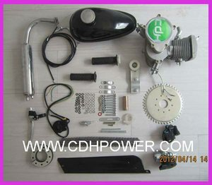2 Stroke Moped Gasoline Engine/Gas Bicycle Motor Kit