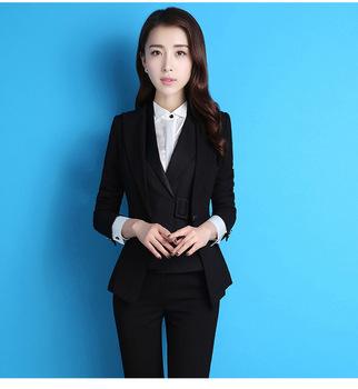 Wawancara Formal Ol Wanita Bisnis Work Kantor Jaket - Buy Wanita ... c48337116f