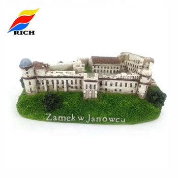 Custom Resin Tiny Models Tourist Souvenir Building Model Miniature House