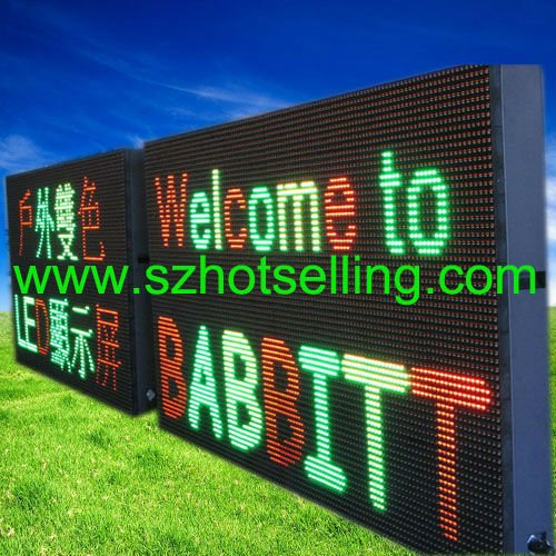 Led Display Module/outdoor led display timer / RGY Outdoor LED Display