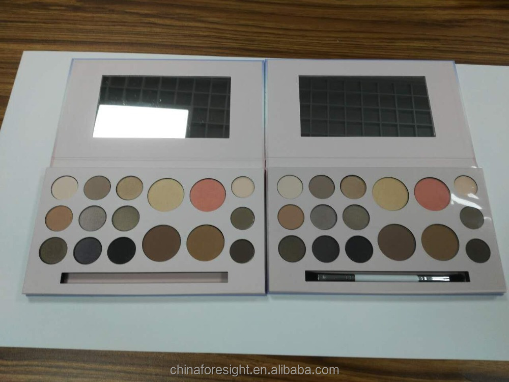 Highlighter eyebrow contour palette private label