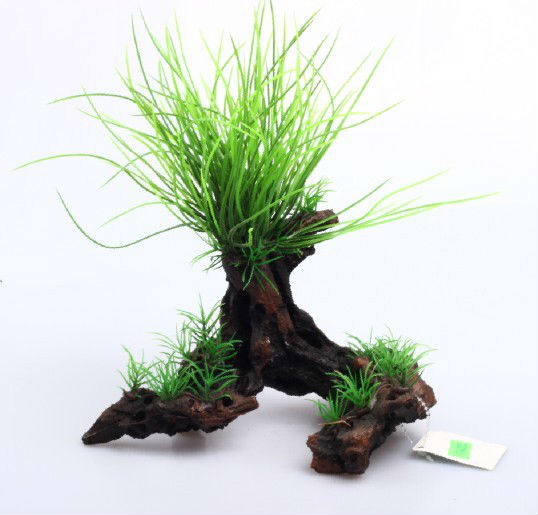 Shanda Aquarium Accessories Aquarium Planstic Plant Decorative ...