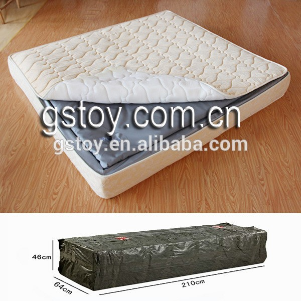 double inflatable Sponge frame air mattress