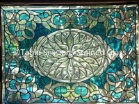 Tiffany Stained Glass Door and Window Panels