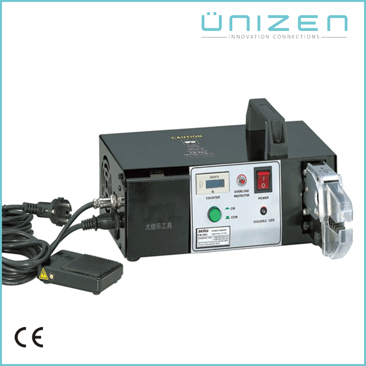 UNIZEN Top Selling Products Electrical Wire Crimper Terminal Crimping Machine