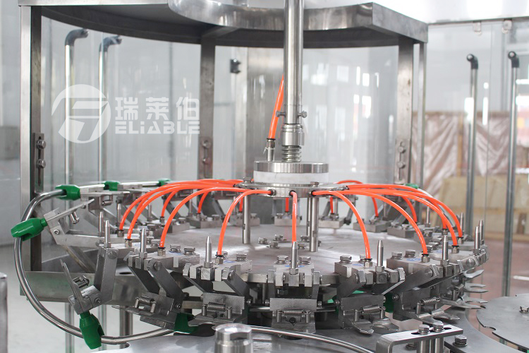 Commercial Automatic Drinking Water Bottling Machine / Liquid Filling Plant Price For Sale