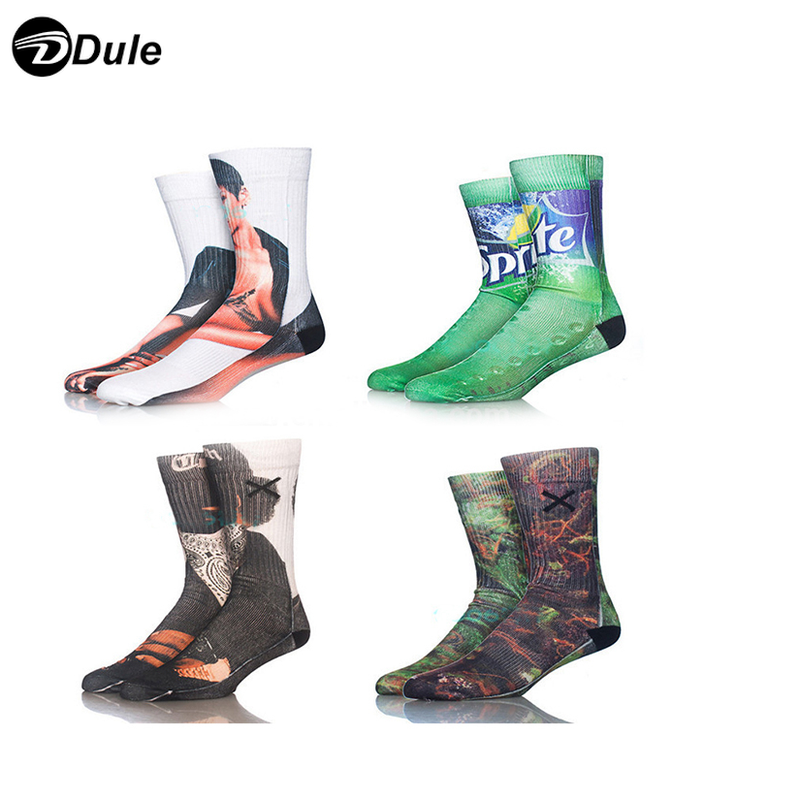 DL-I-1283 sublimation sock blank sublimated socks printing socks for sublimation