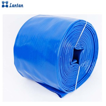 2017 HOT sales Layflat High quality PVC lay flat Flexible hose For irrigation