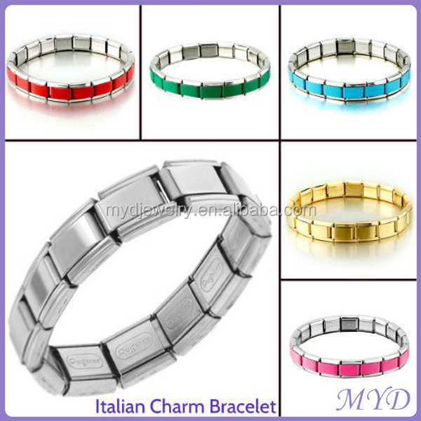 Various Colors 9mm Italian Charms Fit for Brand Zoppini Bracelet