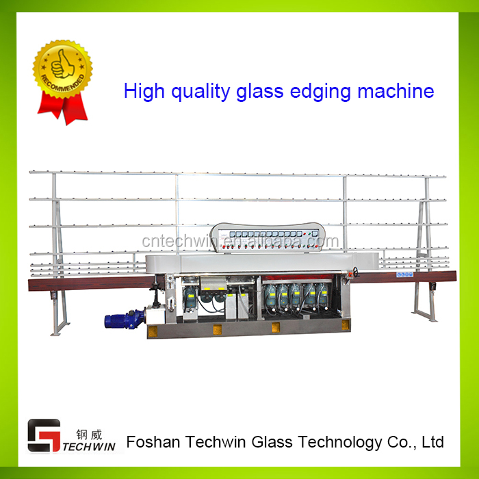 10 motors Glass straight line 45 degree Multilevel edging machine