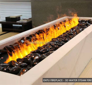 china suppliers 3D steam electric fireplace no heat