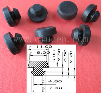 Grommet Bumpers Rubber Hole Plug Small Push In Bumper