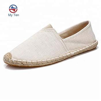 367d1fa6e5 Unisex Breathable Slip On Men Shoes Flat Unisex Canvas Espadrilles Men  Shoes - Buy Espadrilles Mens Shoes,Unisex Canvas Shoes,Men Shoes Product on  ...