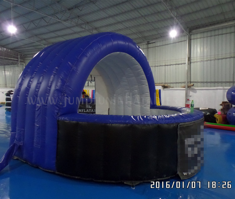 Inflatable kiosk exhibition cheap mini inflatable booth advertising exhibition stand sale