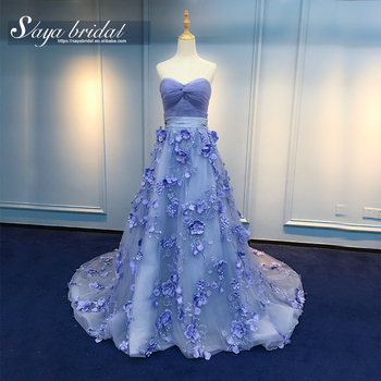 Bridal Ball Gown Lace Purple Mermaid Wedding Dress Patterns View