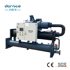 Top Quality CE Certification Hanbell Screw Compressor 30ton Water Chiller Cooling System