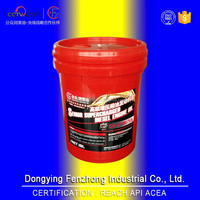 Good lubrication effect diesel engine oil CF-4 sae 50 with REACH certification