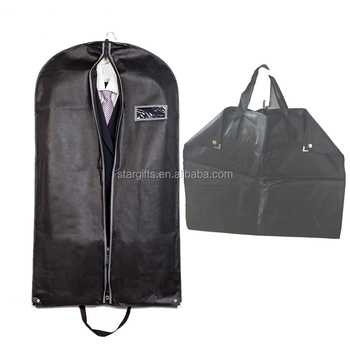 New Design Cloth Customized Suit Cover Travel Garment Bag With Pockets